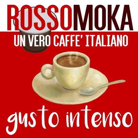 100 Capsule Nespresso ROSSOMOKA